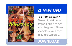 New DVD: Pet the monkey
