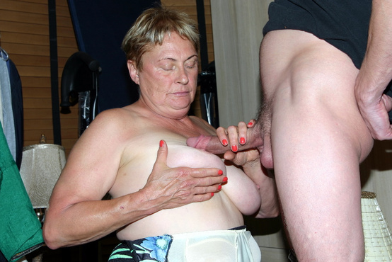My grandma sucked my cock
